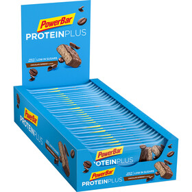 PowerBar ProteinPlus Bar Box 30 x 35g Chocolate Espresso